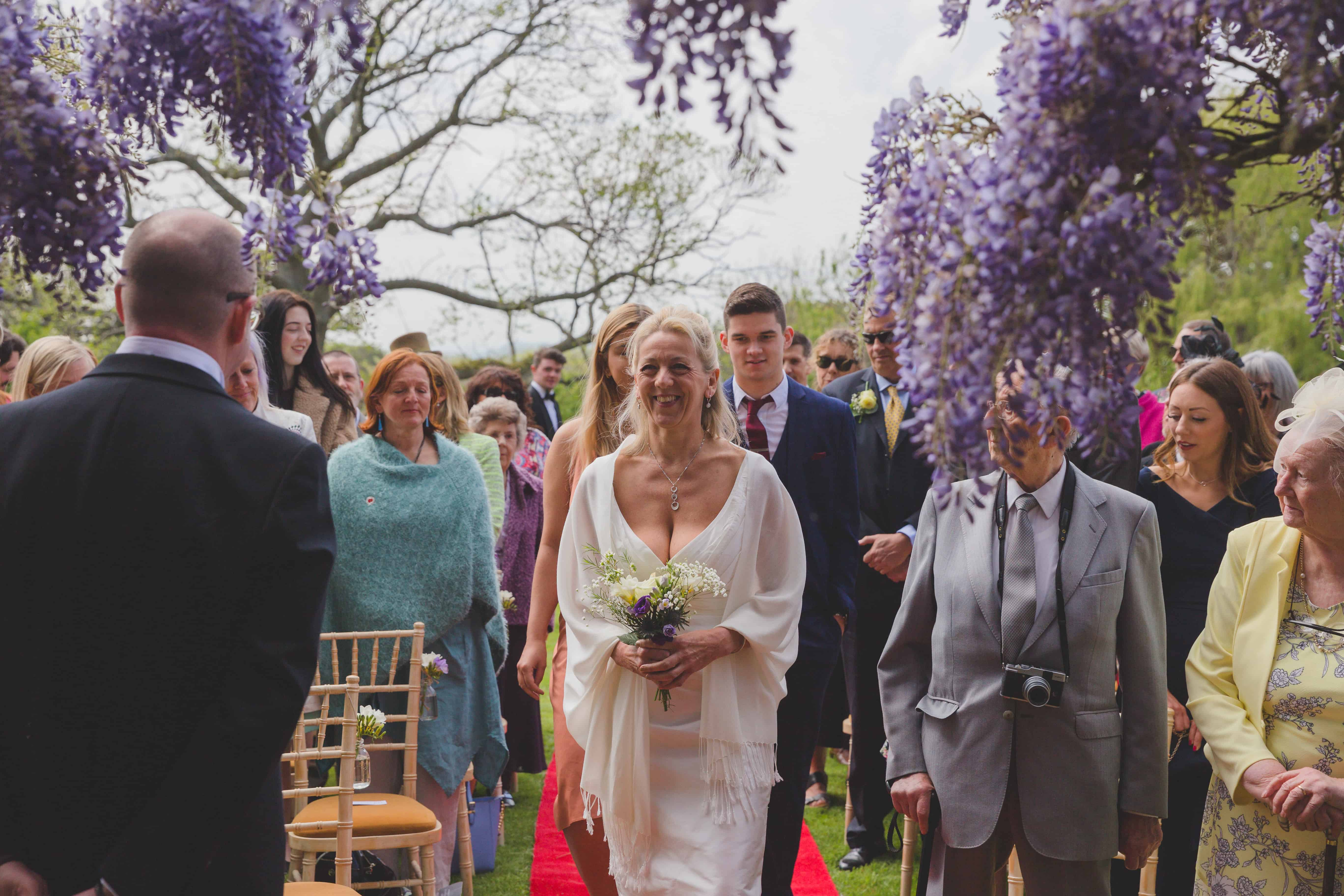 spring wedding, Glenfall House