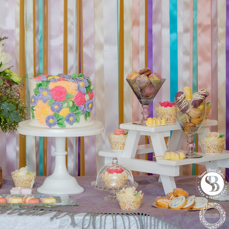 Sugar Bowl Bakes, Featured Image, Glenfall House, Cotswold Wedding Venue