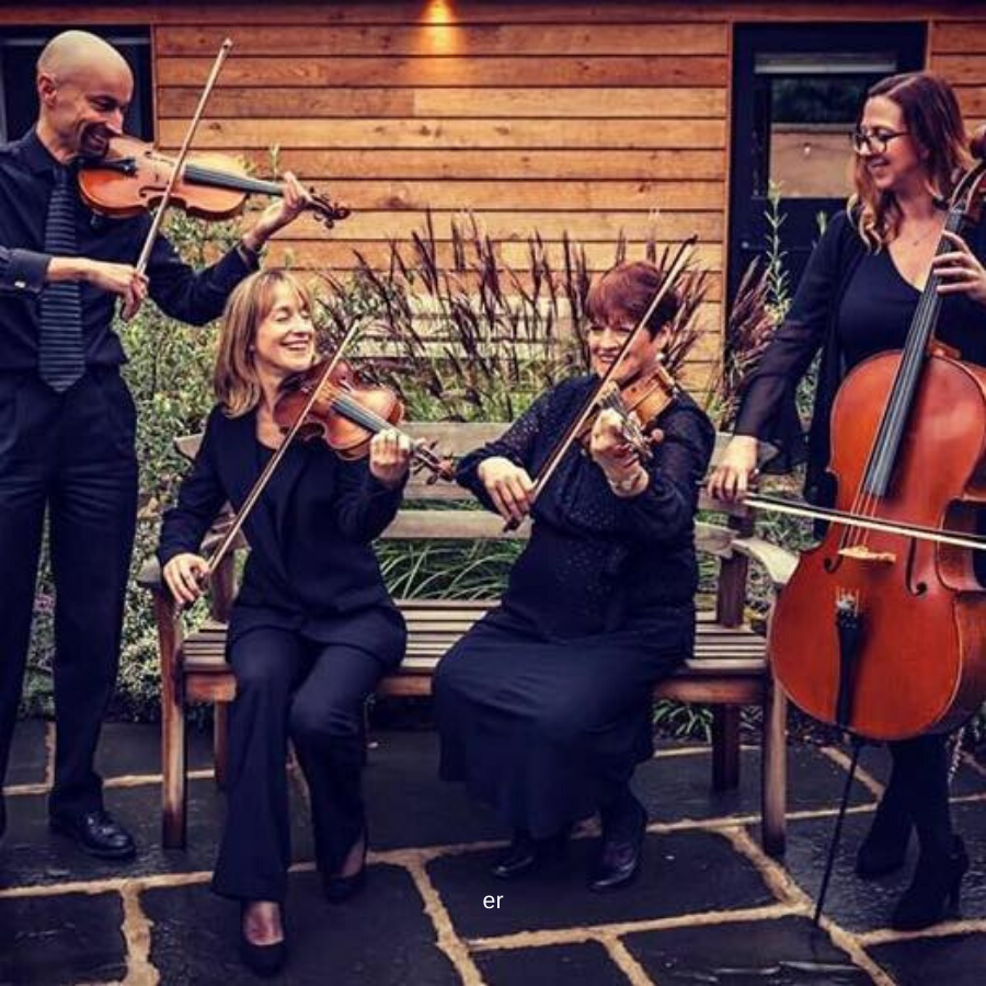 Capriccio Quartet, Featured Image, Glenfall House, Cotswold Wedding Venue