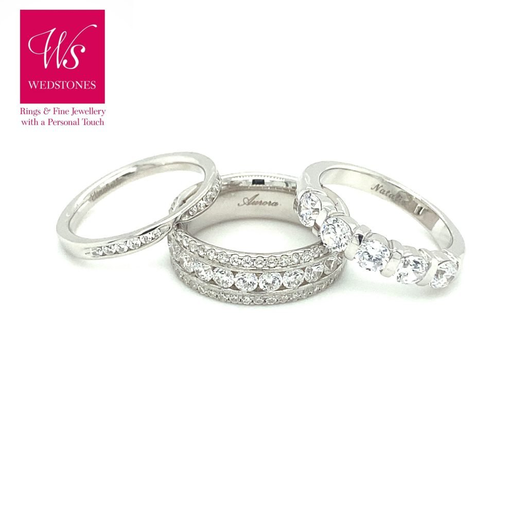 Wedstones -Bespoke Wedding Rings